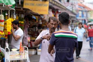 通りのインド人の写真・画像素材[891737]
