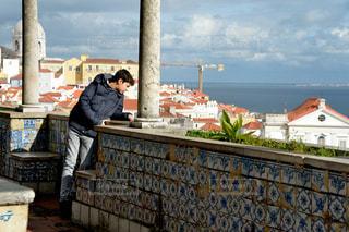 リスボン 景勝地の写真・画像素材[893430]