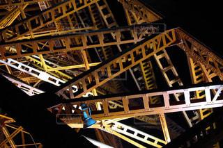 東京タワーの鉄骨の写真・画像素材[892648]