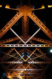 東京タワーの鉄骨の写真・画像素材[892649]