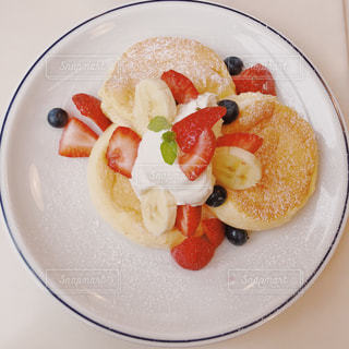 ふわふわパンケーキの写真・画像素材[1582363]