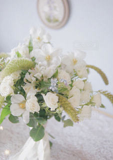 近くの花のアップの写真・画像素材[1654740]