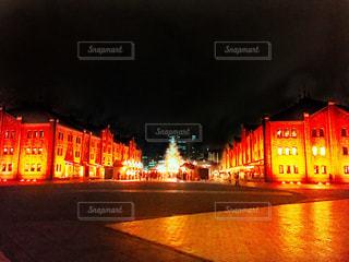 クリスマスの灯の写真・画像素材[897706]