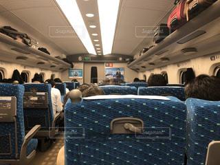 新幹線車内の写真・画像素材[1006497]
