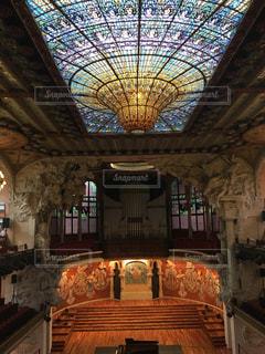 バルセロナのとある音楽堂の写真・画像素材[893515]