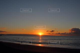 桂浜の日の出の写真・画像素材[895526]