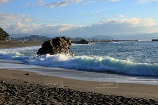 桂浜の波の写真・画像素材[895548]