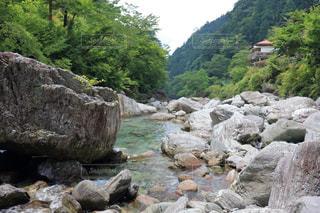 安居渓谷(仁淀川町)の写真・画像素材[899499]