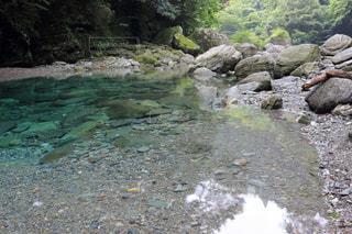 安居渓谷 水晶淵の写真・画像素材[899540]
