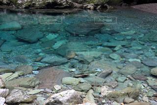 安居渓谷 水晶淵の写真・画像素材[899541]