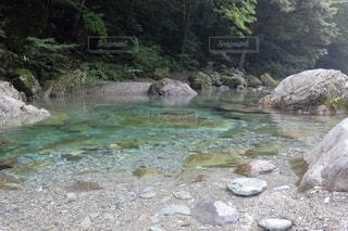 安居渓谷 乙女河原の写真・画像素材[899548]