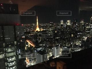 ビルからの夜景の写真・画像素材[1284733]
