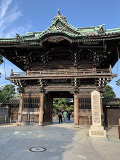 帝釈天山門の写真・画像素材[2445674]