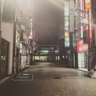 街の通りのビューの写真・画像素材[895184]