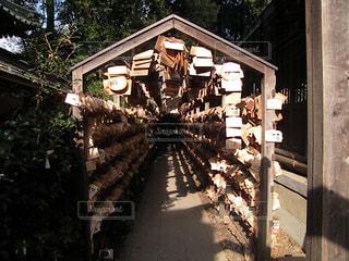 絵馬 トンネルの写真・画像素材[895369]