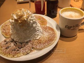 クローズ アップ食べ物の皿とコーヒー カップ - No.898274