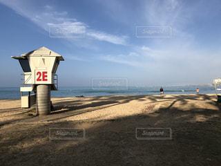 ハワイビーチと空の写真・画像素材[896388]