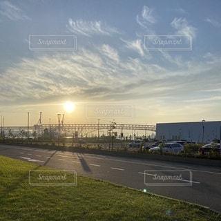 夕日の写真・画像素材[3529085]
