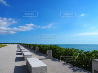 沖縄の海・ウミカジテラス - No.897595