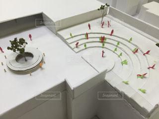 屋外コンサート施設の手作り模型 - No.899697