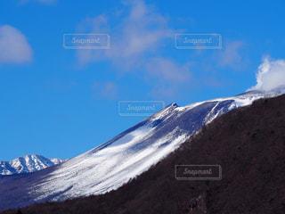 雪に覆われた山 - No.952838
