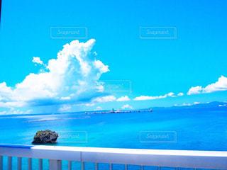 橋の上から見た大海 - No.960149