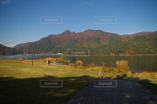 河口湖。の写真・画像素材[899404]
