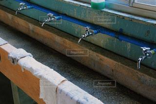 体育館の蛇口の写真・画像素材[901834]