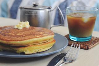 休日の朝食の写真・画像素材[1207107]