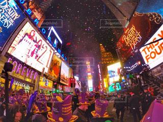 Times Square カウントダウンの写真・画像素材[899976]