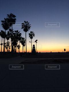 カリフォルニアの夕焼けの写真・画像素材[899990]