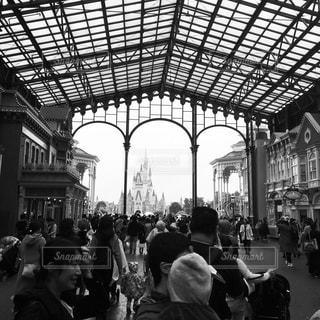 ディズニーと群衆の写真・画像素材[903027]
