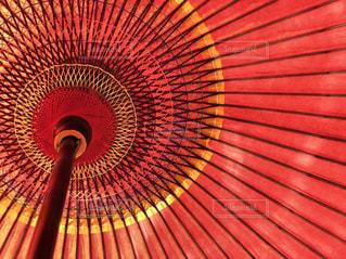 赤い傘の写真・画像素材[900459]