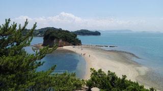 小豆島 エンジェルロードの写真・画像素材[900993]