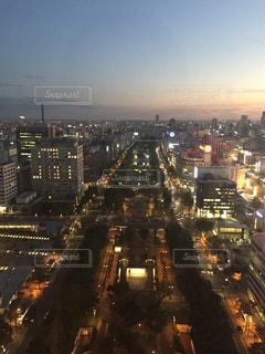 夜の街の景色の写真・画像素材[901121]