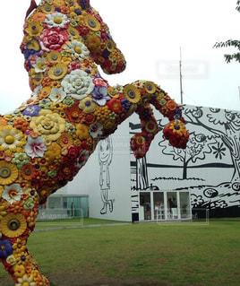 十和田美術館の庭の写真・画像素材[901356]