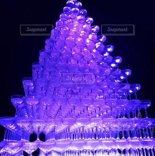 シャンパンタワーの写真・画像素材[901676]
