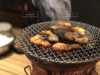 肉肉焼くの写真・画像素材[908129]