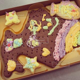 北海道の形のクッキー - No.902346