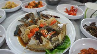 韓国で食べたカンジャンケジャンの写真・画像素材[902724]