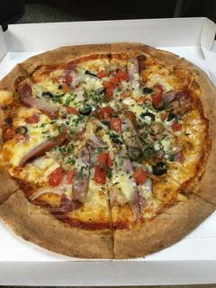 ピザの箱の写真・画像素材[913082]