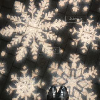 雪の結晶の写真・画像素材[930788]