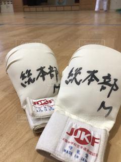 拳サポーターの写真・画像素材[1005844]