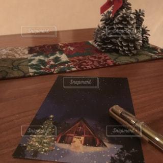 クリスマスカードの写真・画像素材[1683438]