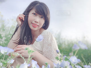 お花畑の写真・画像素材[2122733]