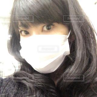 マスク着用の写真・画像素材[3254234]