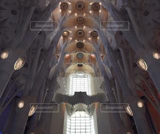 サグラダファミリア 内部空間の写真・画像素材[904976]