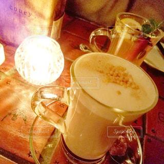 あったカフェの写真・画像素材[905105]