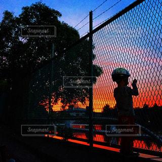 燃える夕暮れの写真・画像素材[905463]