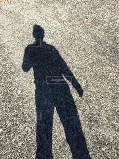 人の影の写真・画像素材[950706]